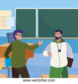 teachers classic and sports in the classroom