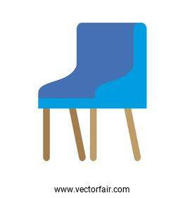 waiting room chair icon vector ilustration