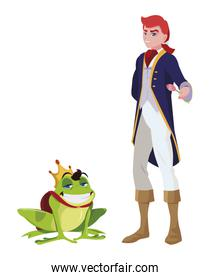 prince charming and toad of tales characters