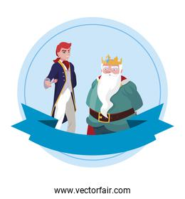 prince charming with king characters