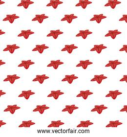 cute starfishes summer pattern background