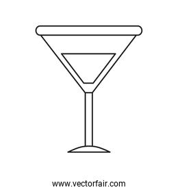representation of cocktail silhouette