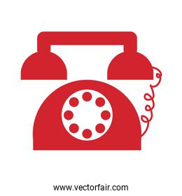 retro telephone icon