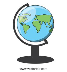 geography tool icon image