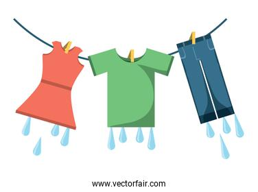 washing clothes design