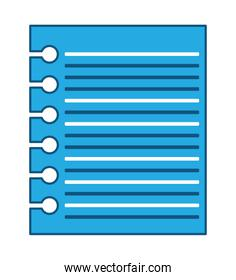 Notebook sheet icon