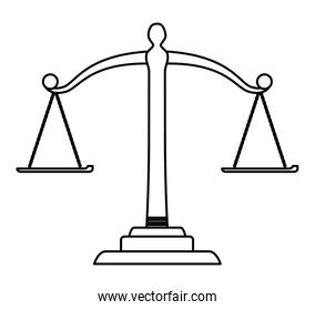 law scale icon