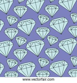 background of diamonds design