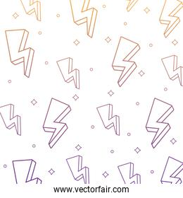 lightnings pattern design
