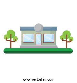 store and trees design