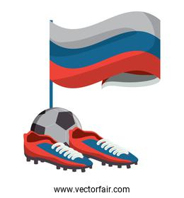 Russia football world cup design