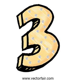 number icon image