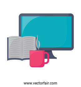 computer and book design