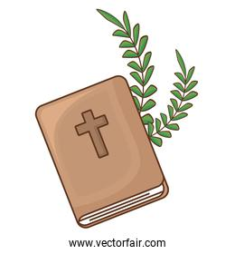 bible and branches design