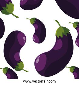 Isolated eggplants icon vector design