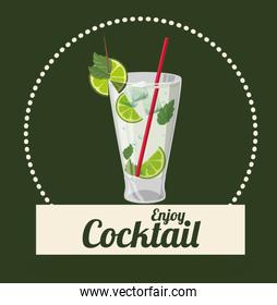 Cocktail icons design