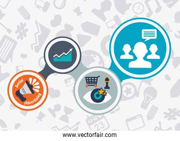 Social Advertising and Marketing  online