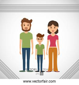Family icon design