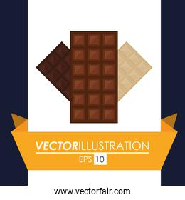 Chocolate icon design