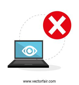 Flat illustration about Security system
