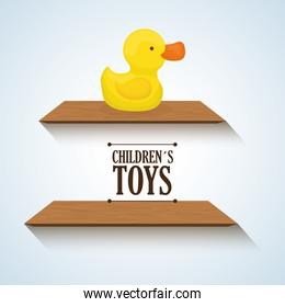 Toy design, childhood and game concept
