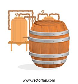 Beer design. brewery icon. beverage concept, vector illustration