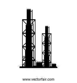 Industry design. Plant icon.  Factory concept