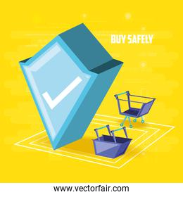 buy safely online with shield
