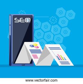 search engine optimization with smartphone