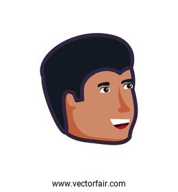 head of young man avatar character