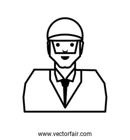 oil industry worker character
