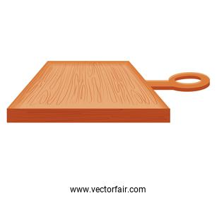 kitchen board wooden isolated icon