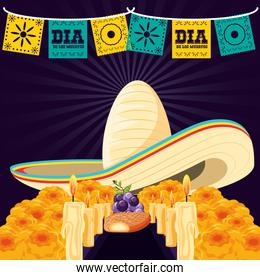 mexican hat of day death
