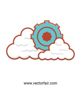 gear machinery with cloud computing