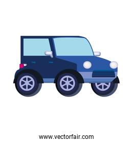 car jeep isolated icon