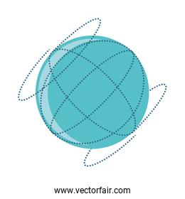 sphere browser isolated icon