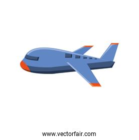 airplane travel flying isolated icon