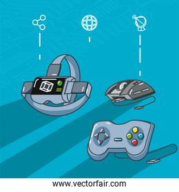 video game technology set gadgets