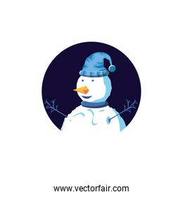 snowman of christmas character