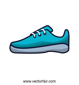 shoe runner tennis isolated icon