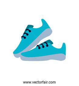 shoes runner tennis isolated icon