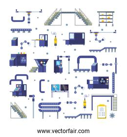industrial factory set items