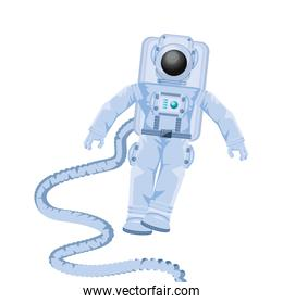 space astronaut with hose avatar character
