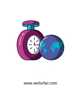 chronometer time with planet earth