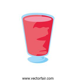 delicious and refresh juice isolated icon