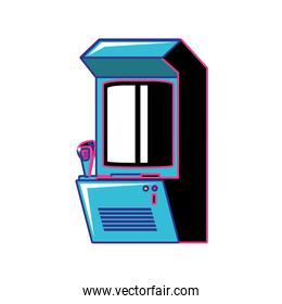 retro video game machine icon