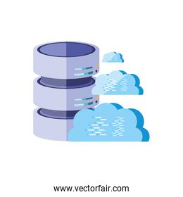 data center disks with cloud computing