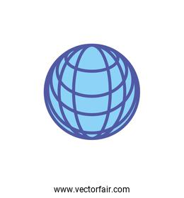 sphere browser technology icon