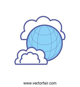 sphere browser technology with clouds computing