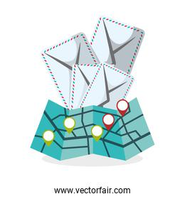 Delivery design. shipping  icon. White background